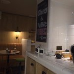 The Z Hotel Cafe/ Bar - little extras it have with your free cheese and wines in the evening - d