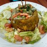 Vegetable Mufongo Yum!  Just like mamasita used to make!!!