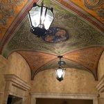 lobby ceiling detail