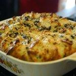 Savory Mushroom Bread Puddin