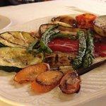 Starter- Grilled Vegetables