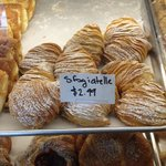 I cannot make out the name, but this was an excellent pastry!
