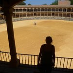 Pequeña pero histórica plaza de toros