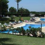 la piscine du côté espagnol