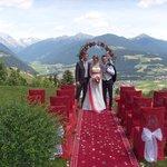 allestimento giardino per matrimonio