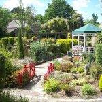 Bandstand and restaurant gardens