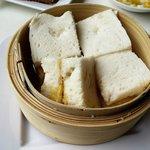 Kaya & butter steamed white bread
