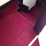 Threadbare carpet