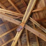 The beautiful ceiling of the Treehouse