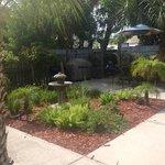 outside patio garden