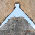 punto di vista dell'architettura di Uxmal