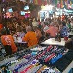 Football fever at Khaosan