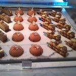 cakes at Yauatcha