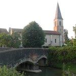 L'église de Berenx à 500m