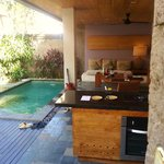 Outside Dining and Private Pool