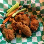 The Middleswarth BBQ wings