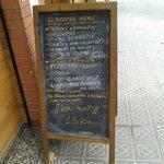 Menu du jour à 13.80€