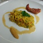 5th course - rissotto with lobster - this was really delicious