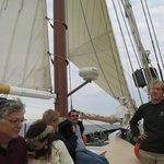 On the Appledore on Saginaw Bay