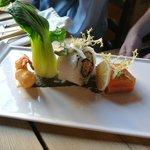 Fish tasting plate