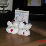 Easter bunnies from Gunton Hall