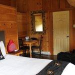 Notre chambre dans le pavillon principal.