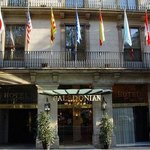 Caledonian Hotel Entrance