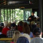 Train ride at excursion