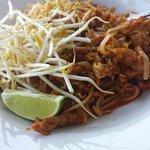 Pork Pad Thai upclose