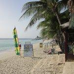 beach front at Bananarama