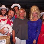 Carousel Alum Kelly with the 2012 cast