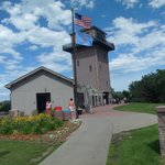 Sioux Falls free observation deck, has an elevator, gift shop and bathrooms here too