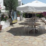 beach bar terrace
