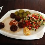 Hummus&falafel