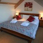 Crow's Nest Bedroom with super king size bed