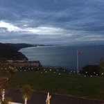 Breathtaking night time view from our balcony at Headland View
