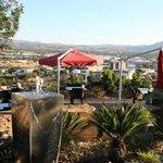 Restaurantterrasse mit Blich über Windhoek