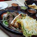 Mediocre fajita for a mexican restaurant