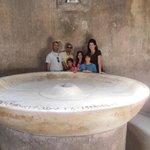 Tour of Pompeii with Sasha