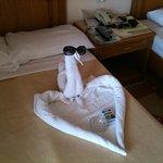 our romantic honeymoon suite