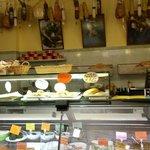 Banco formaggi e gastronomia