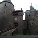 The entrance to the Castle