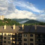 balconies facing Mt. Leconte offer the best view.