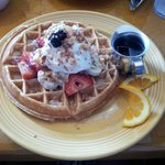Paradise waffle