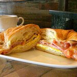 Great breakfast sandwich at Cafe Caturra