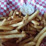 Fries..I asked for crisp and I got them