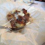 Lamb mezze dish