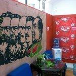 De Marx a Mao num só painel