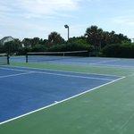 Tennis Courts look amazing
