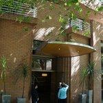 Lobby Frontal do Hotel